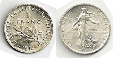 siege leclerc tres monnaie 1 franc 1914 castelsarrasin cabinet d