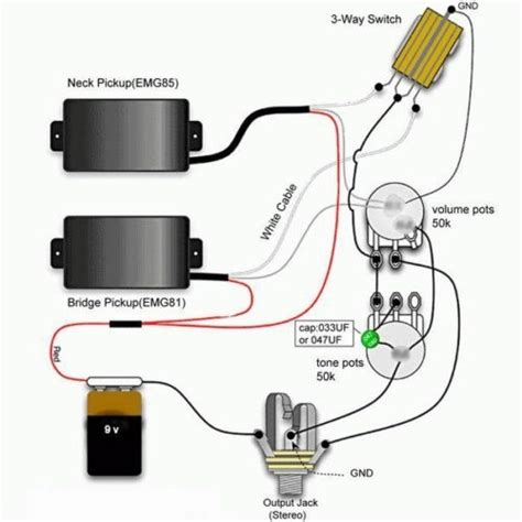Emg 81 Solderles Wiring Diagram by I Was Able To Get The Emg 81 85 Wiring Diagram At