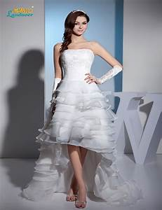 aliexpresscom buy glorious short front long back bodice With wedding dress short in front with long train