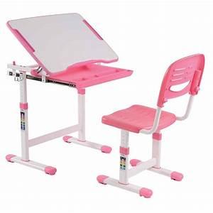Chaise Bureau Rose : bureau chaise enfant comfortline 66cm rose ~ Teatrodelosmanantiales.com Idées de Décoration