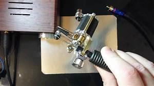 Rotary tattoo machine hand made custom - YouTube