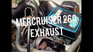 Mercruiser 260 Closed Cooling System Using Saltwater On