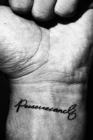 What Does Perseverance Tattoo Mean?   Represent Symbolism