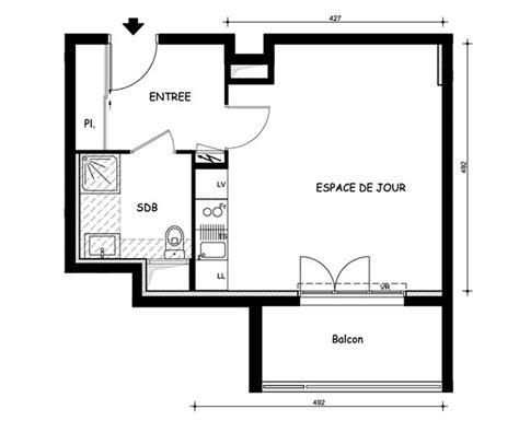 plan amenagement cuisine gratuit plan d 39 un appartement t1