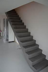 Geländer Für Treppe : besserbauen beton cire spezialist beton cire beschichtung sichtbetontreppe mehr treppen ~ Markanthonyermac.com Haus und Dekorationen