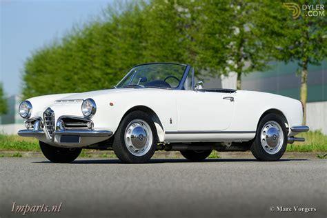1962 Alfa Romeo by Classic 1962 Alfa Romeo Giulia Spider 1600 For Sale 2575