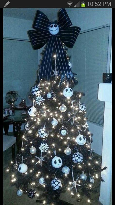 nightmare before christmas tree jack skellington pinterest