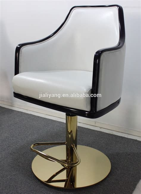 2015 shiny golden base bar chairs used casino slot chair