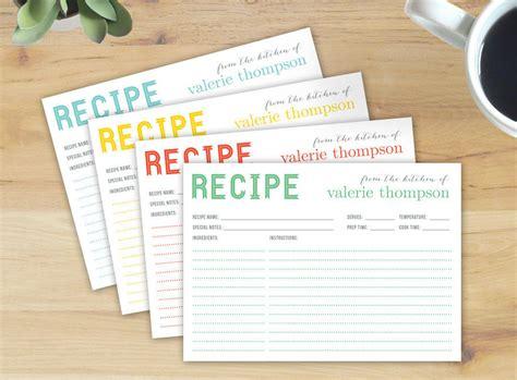 recipe card designs design trends premium psd