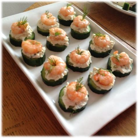 canapes ideas healthy canapé ideas glutenfree use cucumber as a base
