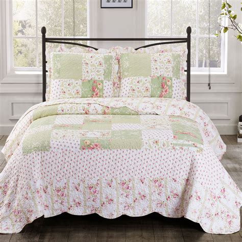 Coverlet Size by Upland Size Oversized Coverlet 3 Pc Set