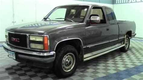car manuals free online 1993 gmc 1500 club coupe engine control 1992 gmc sierra 1500 club coupe 1f140722a youtube