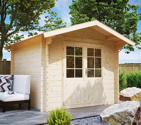 luoman gartenhaus 187 lillevilla 21 171 bxt 240x240 cm 28 mm inkl aufbau kaufen otto