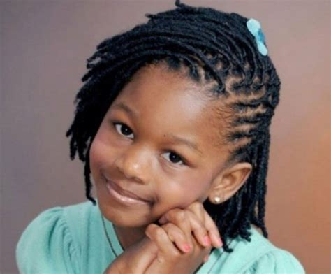 coiffure tresse africaine pour enfant