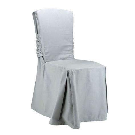 housse de chaise alinea housse de chaise grise mundu fr