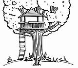 Coloring Treehouse Tree Pages Drawing Colouring Printable Drawings Magic Amazing Books Bestcoloringpagesforkids Beach Getcoloringpages Summer sketch template