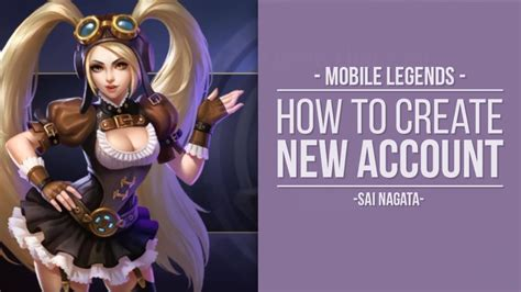 How To Create New Mobile Legends Account
