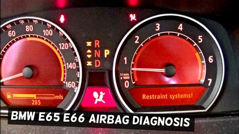 turn off airbag light how to turn airbag light off on bmw e65 e66 with maxisys