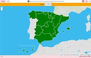 Mapa para jugar ¿Dónde está? Comunidades autónomas de España Mapas Interactivos de Didactalia