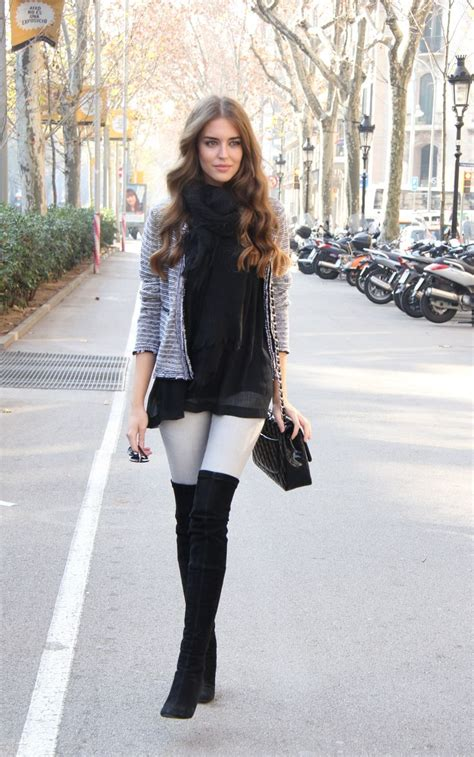How To Wear Over The Knee Boots In A Stylish u0026 Fashionable Way #6 Is Looking Gorgeous - EHotBuzz