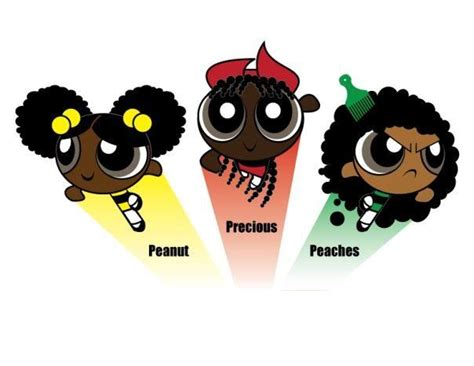 While proving black girls do indeed watch cartoons! Afro Puff Girls! lol | Cartoon Love | Pinterest | The natural, I am and Too cute