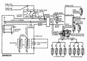 Ford F 250 Wiring Schematic For 1986 : 1986 ford f 250 4x4 6 9 diesel glow plugs have a short ~ A.2002-acura-tl-radio.info Haus und Dekorationen