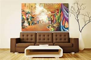 Deco Mural Salon : tableau paysage vente de tableaux voyages et cadre design londres paris izoa ~ Teatrodelosmanantiales.com Idées de Décoration