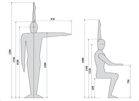 hauteur de bureau standard normes et dimensions du mobilier en bois normes