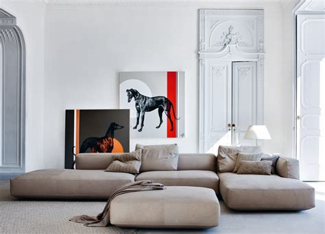 cassina canapé modulari e componibili i nuovi divani zanotta