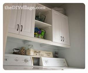 laundry room makeover the diy village With kitchen cabinets lowes with nursery room wall art