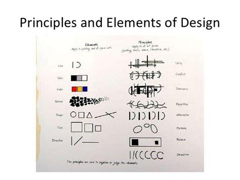 principles and elements of design principles and elements of design chart by jo from