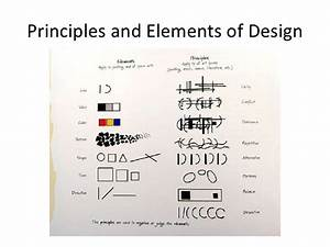 Principles And Elements Of Design Chart By Jo Taylor From