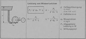 Verdunstung Wasser Berechnen Formel : erneuerbare energie ~ Themetempest.com Abrechnung