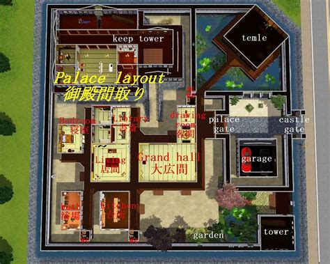 build my house mod the sims japanese style castle sims jo
