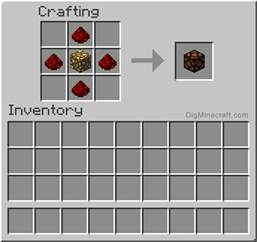 how to make a redstone l in minecraft