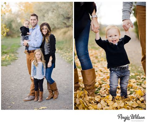 Fall Family Portraits  Boulder » Angie Wilson Photography