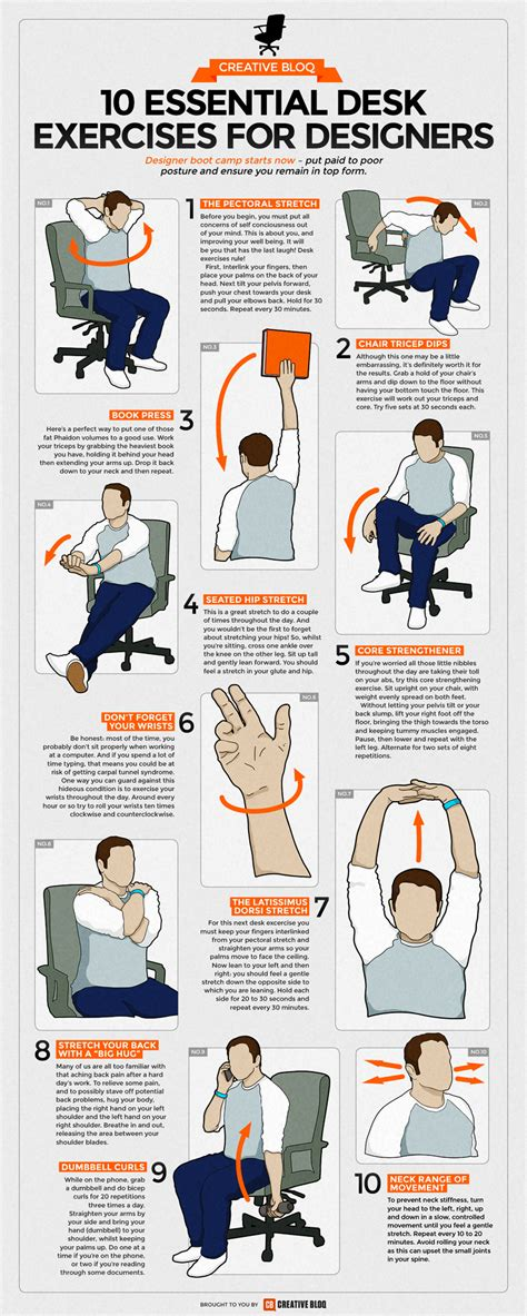 neck exercises at your desk 10 simple exercises for designers and desk workers to stay fit