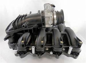 New Oem Ford Intake Manifold With Throttle Body 2011