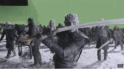 Thrones Walkers King Night Behind Scenes Walker