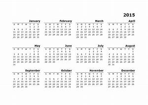 2015 yearly calendar template 10 free printable templates With australian calendar template 2015