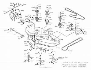 Dixon Ztr 4516k  1999  Parts Diagram For Mower Deck