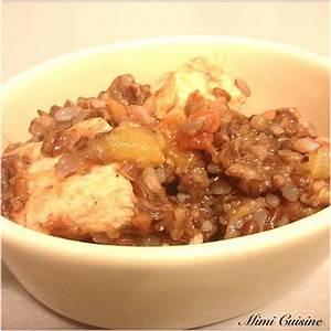 Riz Rouge Pic Recette Cookeo Mimi Cuisine