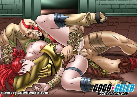 Gogoceleb God Of War Heavenly Sword ~ Ver Porno Comics