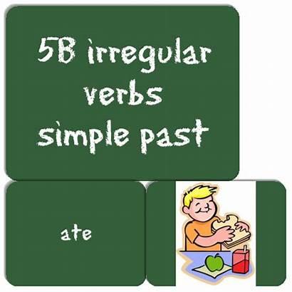 Simple Past Verbs Irregular Els Aprenem 5b