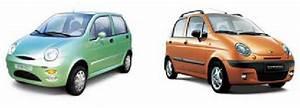 Chery Qq Minicar  Left  And Gm Chevrolet Spark   Daewoo