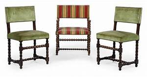 Chaise Louis Xiii : paire de chaises et une chaise a bras en partie d 39 epoque ~ Melissatoandfro.com Idées de Décoration