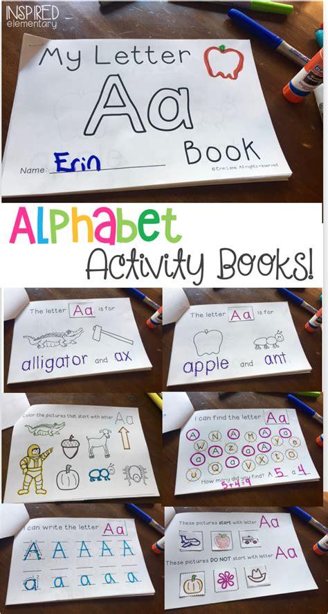 alphabet activity books   fun  interactive