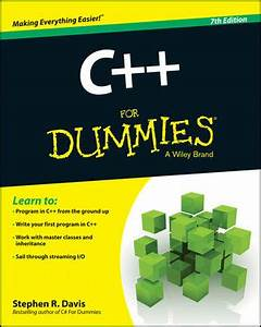 wiley c for dummies 7th edition stephen r davis With for dummies template book cover