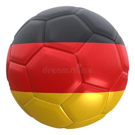 The germany national football team (german: Germany Flag On A Football Ball Stock Illustration ...
