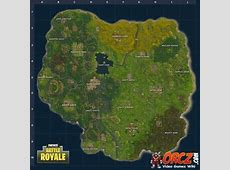 Fortnite Battle Royale Map Orczcom, The Video Games Wiki